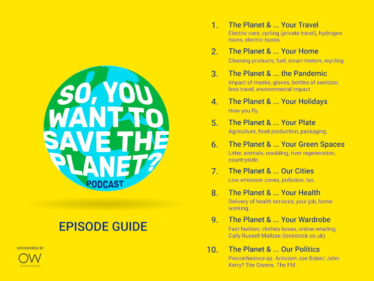 so you want to save the planet episode guide